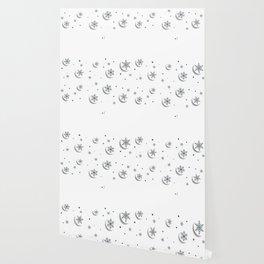 Cercle Fleur Wallpaper
