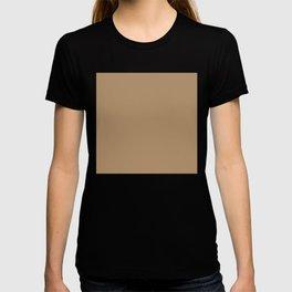 ICED COFFEE PANTONE 15-1040 T-shirt