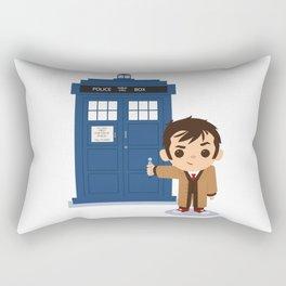 Cute 10 and Tardis Rectangular Pillow