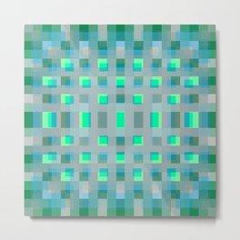 pixel pattern. 3. 4b Metal Print