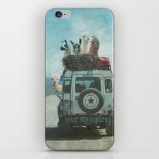 NEVER STOP EXPLORING II SUMMER EDITION iPhone & iPod Skin