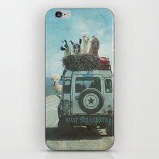 NEVER STOP EXPLORING II SUMMER EDITION iPhone & iPod Skin