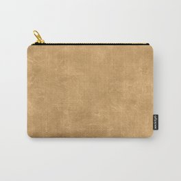 Pale Gold Oil Pastel Color Accent Carry-All Pouch