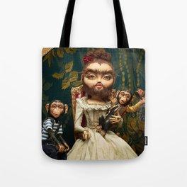Bearded Helena Tote Bag