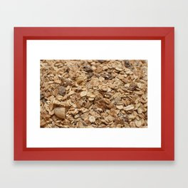 Muesli Framed Art Print