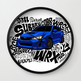 WRX Wall Clock