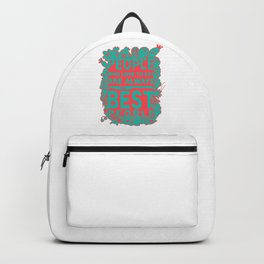 Gastronomy people Backpack