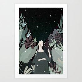 sleepiness Art Print