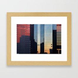 Sunset reflected III. Framed Art Print