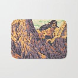 Dinosaur Provincial Park Bath Mat