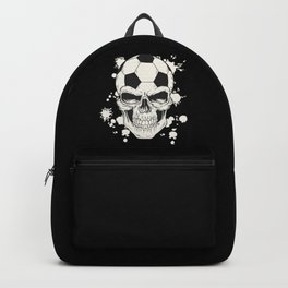 Football Skull - Soccer Skull Backpack