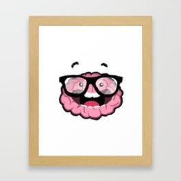 P'Brain Framed Art Print