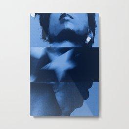 commie blue Metal Print