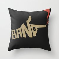 cowboy bebop Throw Pillows featuring See You Space Cowboy... by 5eth