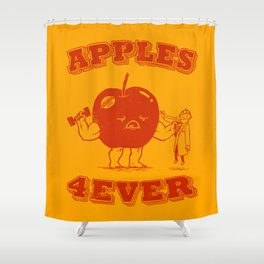 Apples 4EVER Shower Curtain