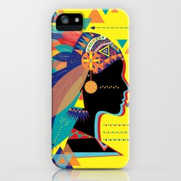 Native Indian iPhone Case