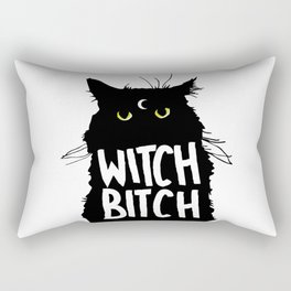 Witch Bitch Rectangular Pillow