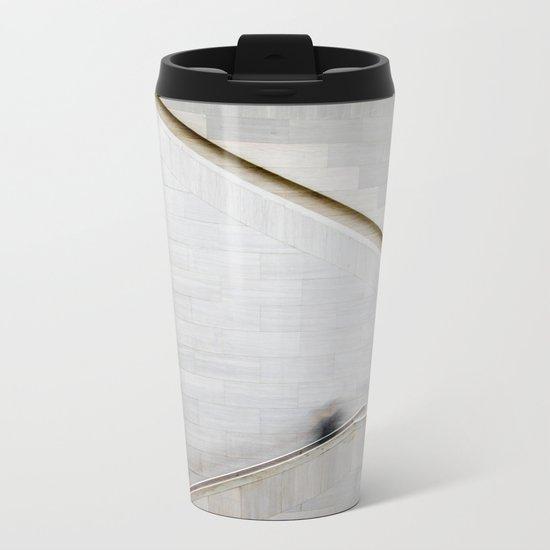 Up & Down Metal Travel Mug