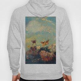 Odilon Redon - Butterflies Hoody