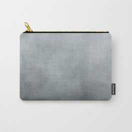 Grey Blue Grunge Carry-All Pouch