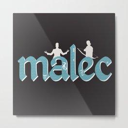 Malec | Shadowhunters Metal Print