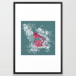 grammophone Framed Art Print