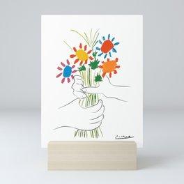 Le Bouquet Pablo Picasso Mini Art Print