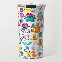 poke collection 4 Travel Mug