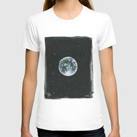 the moon T-shirts featuring Moon by Laia™