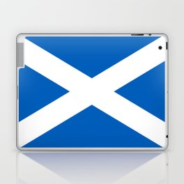 National flag of Scotland - Authentic version to scale and color Laptop & iPad Skin
