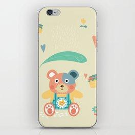 Happy Kuma-chan iPhone Skin