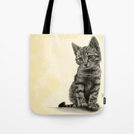 Kitty - PENCIL DRAWING Tote Bag