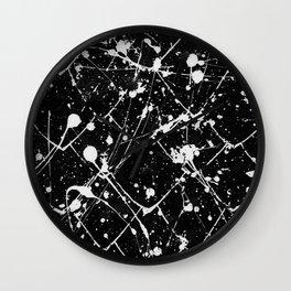 Nikita - black Wall Clock