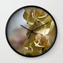 Sweet Yellow  Wall Clock
