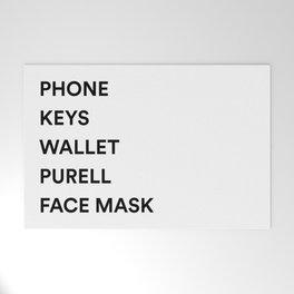 Phone Keys Wallet Purell 2 Welcome Mat