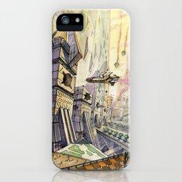City of future iPhone Case