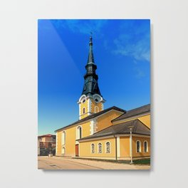 The village church of Ulrichsberg 3 Metal Print