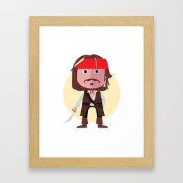 Captain Jack Framed Art Print