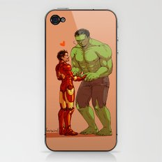 Avengers - Iron Man and Hulk 2 iPhone & iPod Skin