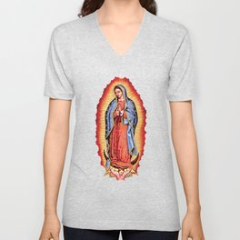 Our Lady of Guadalupe Unisex V-Neck