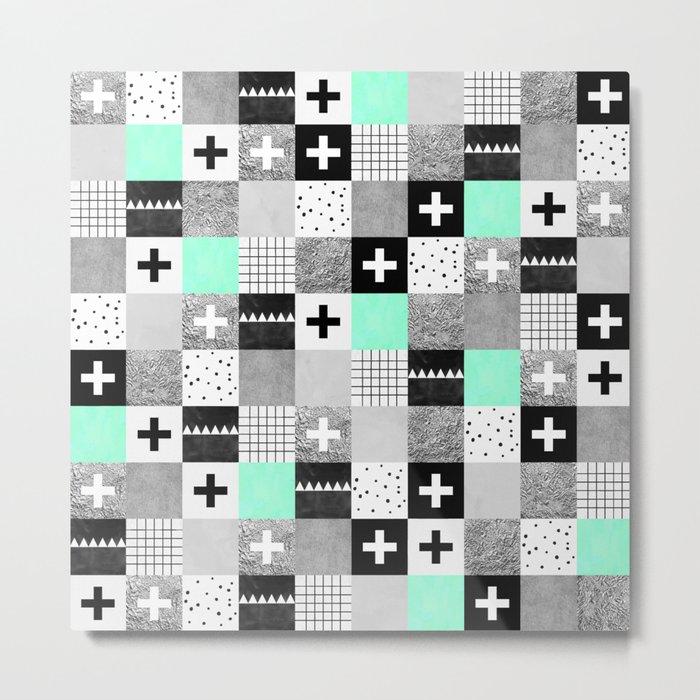 Squares 002 Metal Print