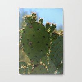 Bigfoot Cacti Metal Print