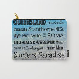 Queensland Poster Carry-All Pouch