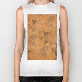 Triangles Pattern 18 Biker Tank