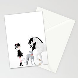 Dreamer and her Companions Stationery Cards