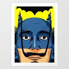 Dali Knight Art Print
