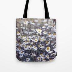 Wild Daisies Field 4130 Tote Bag