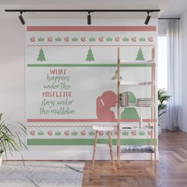 Ugly Christmas Sweater Wall Mural