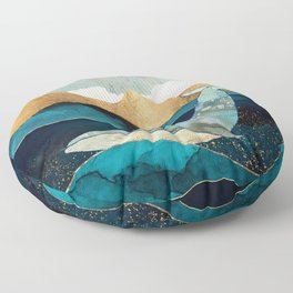 Blue Whale Floor Pillow
