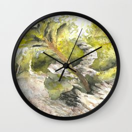 A landscape from Gaspe Wall Clock